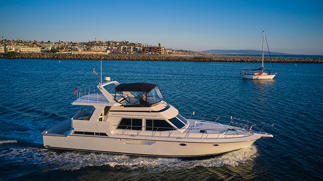Los Angeles Yacht Charter Luxury Yacht