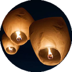 Biodegradable-chinese-lanterns-losangelesyachtcharter