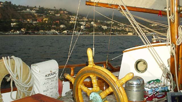 Los Angeles Yacht Charter_0002_ Classic 46 sailing yacht