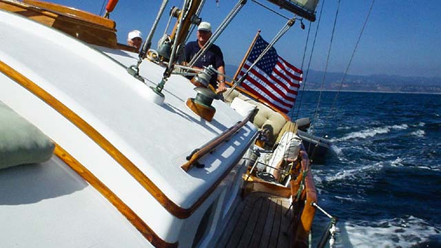 Los Angeles Yacht Charter_0003_ Classic 46 sailing yacht