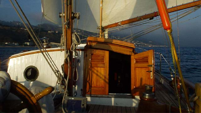 Los Angeles Yacht Charter_0005_ Classic 46 sailing yacht