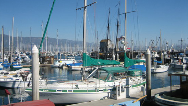 Los Angeles Yacht Charter_0002_41ft. Sailboat Santa Barbara