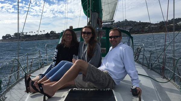 Los Angeles Yacht Charter_0003_41ft. Sailboat Santa Barbara