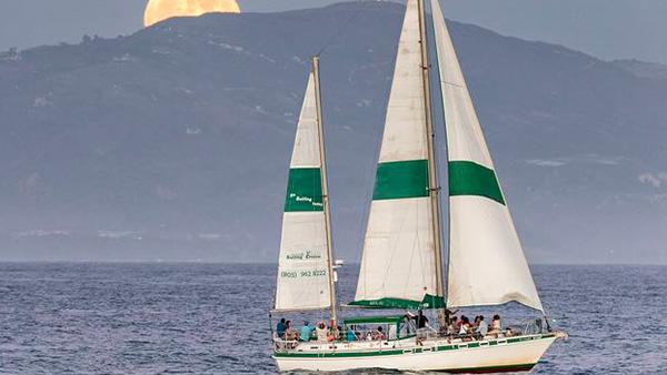 Los Angeles Yacht Charter_0007_41ft. Sailboat Santa Barbara